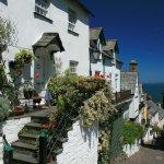 Деревня Кловелли (Англия)