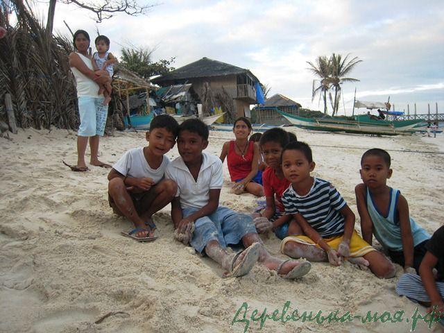 На филиппинах