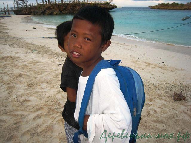Филиппинские мальчишки