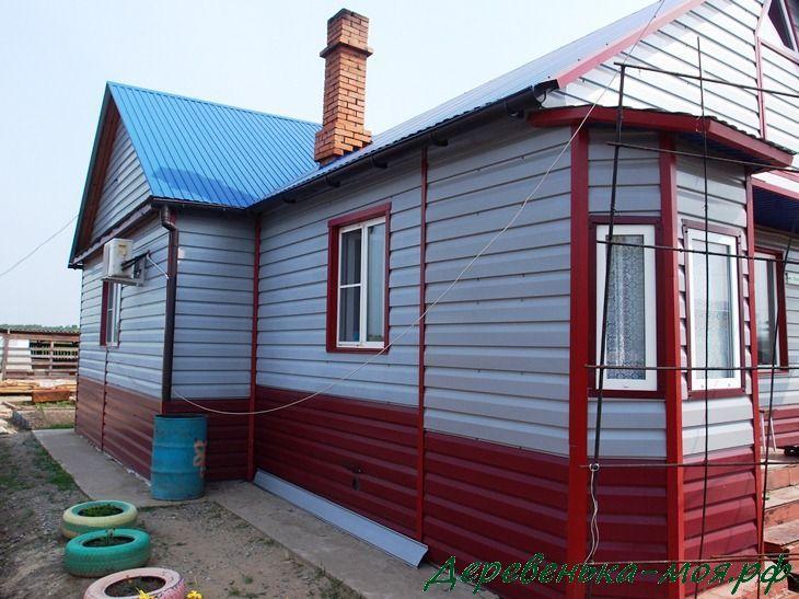 отремонтированный дом после наводнения