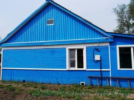 Дом после наводнения