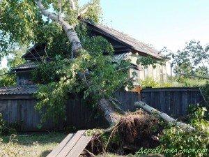 Ураган в Николаевке