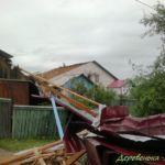 ураган сорвал крыши