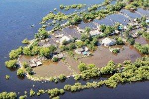 Как высушить дом после наводнения