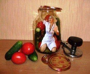 Три простых рецепта засолки овощей