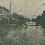 затопленные улицы Благовещенска в 1928 г