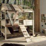сказочный домик в детской комнате