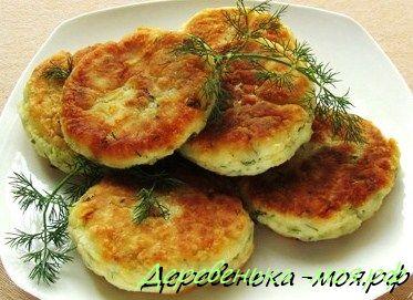 зелёные сырники